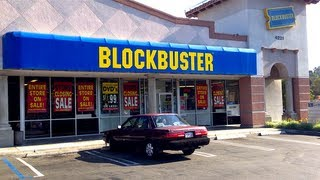 Blu-ray / Dvd Hunting at the Closing Down Video Rental Store