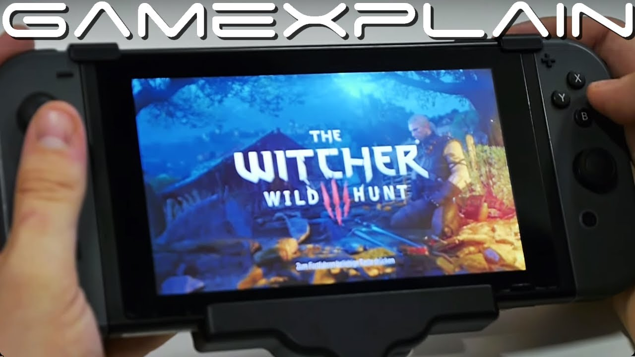 Handheld Gameplay από το  Witcher στο Switch