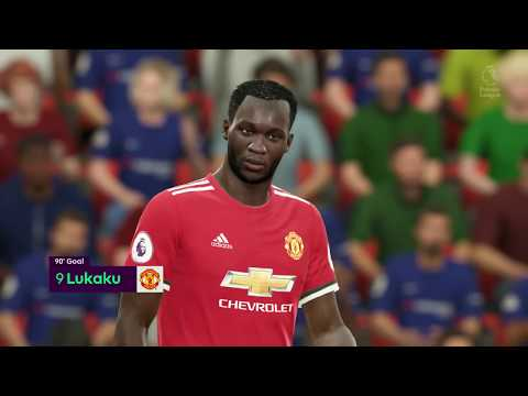 FIFA 18 - Chelsea vs Manchester United Full Match | PS4 Pro (1080p 60fps)