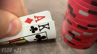 Going All-In (five times)   Poker Vlog #21