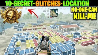 How CONQUEROR Players Plays in NOVOREPNOYE 10 Secret Glitches and Location Tips Tricks PUBG MOBILE