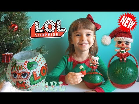 Новинка НОВОГОДНИЙ ЛОЛ СЮРПРИЗ Кукла ООАК Custom Christmas LOL Dolls Suprise