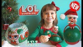 Новинка НОВОРІЧНИЙ ЛОЛ СЮРПРИЗ Лялька ООАК Custom Christmas LOL Dolls Suprise
