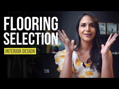 Flooring Selection | Interior Design