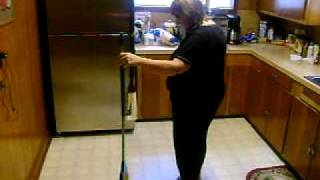The Amazing Pam in Marshall Texas does MAGIC BROOM TRICK