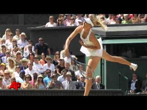 Kvitova Upsets Sharapova to Win Wimbledon