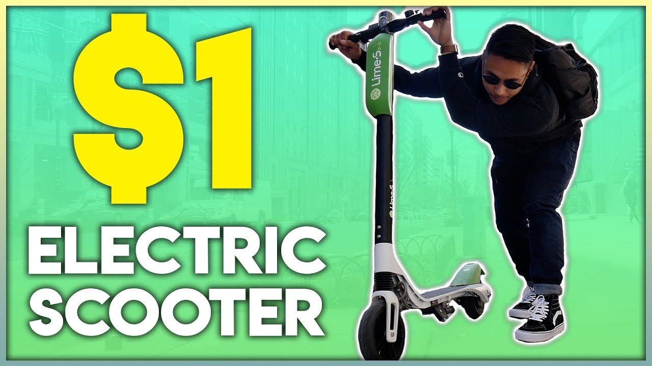 ARE $1 Electric Scooters ACTUALLY GOOD? | LIME SCOOTER
