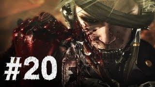 Metal Gear Rising Revengeance Gameplay Walkthrough Part 20 - Excelsus Boss - Final Mission