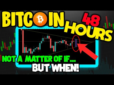 BITCOIN PRICE BEING SQUEEZED LIKE CRAZY! THIS BTC SETUP LIKELY TO BREAK IN NEXT 48 HOURS