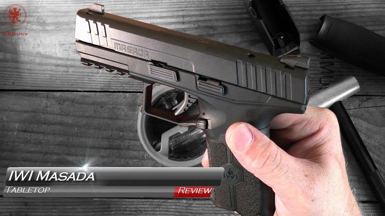 Iwi Masada Orp 9mm Optics Ready Pistol Video Review