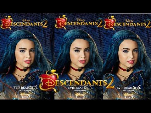 descendants 2 new poster of evie evie beautiful