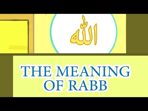What is the meaning of word 'Rabb'?