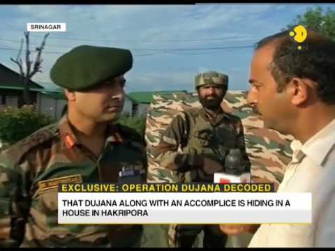 Watch : Commanding Officer tells how lashkar commander Abu Dujana was killed
