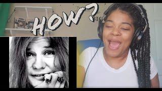 Janis Joplin - Kozmic Blues. ( i got dem ol' kozmic blues again mama) reaction!