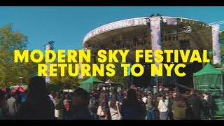 Modern Sky Festival New York City 2015