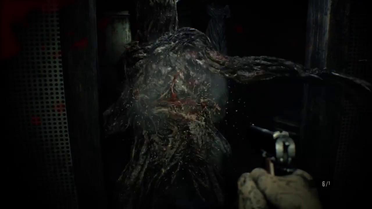 Resident Evil 7 Try To Kill The Basement Monster Youtube