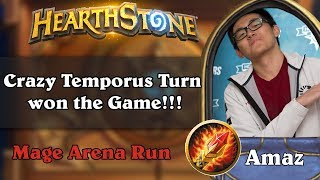 Amaz Mage Arena. Crazy Temporus Turn won the Game!!!
