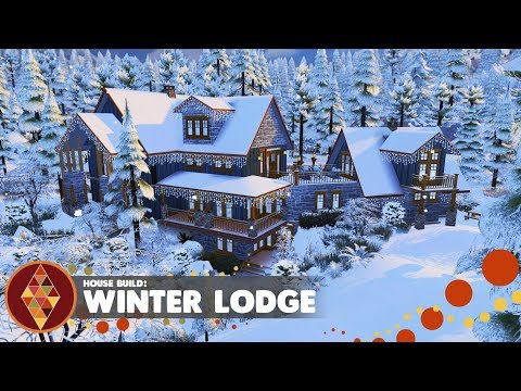 Winter Lodge  - The Sims 4 - House Build | HD
