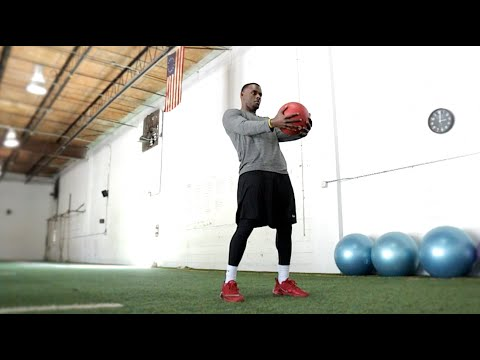 Top 10 Vertical Drills [#4 Med Ball Power Toss] | Overtime Athletes