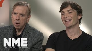 Cillian Murphy & Timothy Spall react to 'disappointed Cillian Murphy meme'