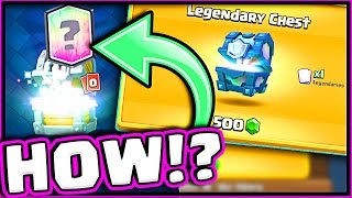 HOW DID I GET 3 LEGENDARIES!? • This Clash Royale Chest Opening is CRAZY!