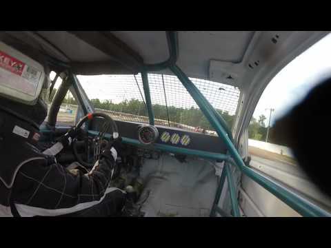 Ransomville speedway 4cyl heat 7/30/16 #43