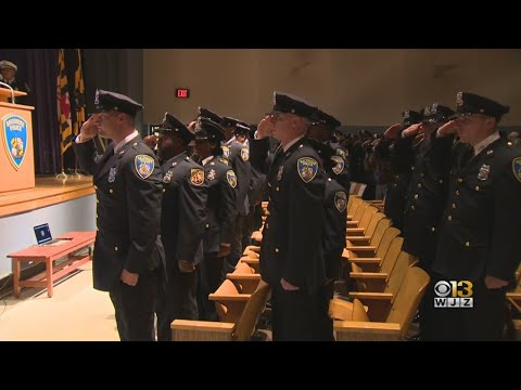 Baltimore Police Department Graduates 29 New Officers