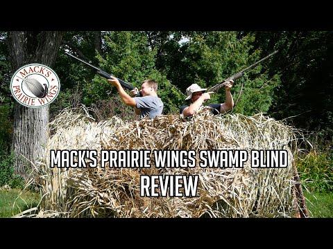 Mack's Prairie Wings Swamp Blind - Setup & Review