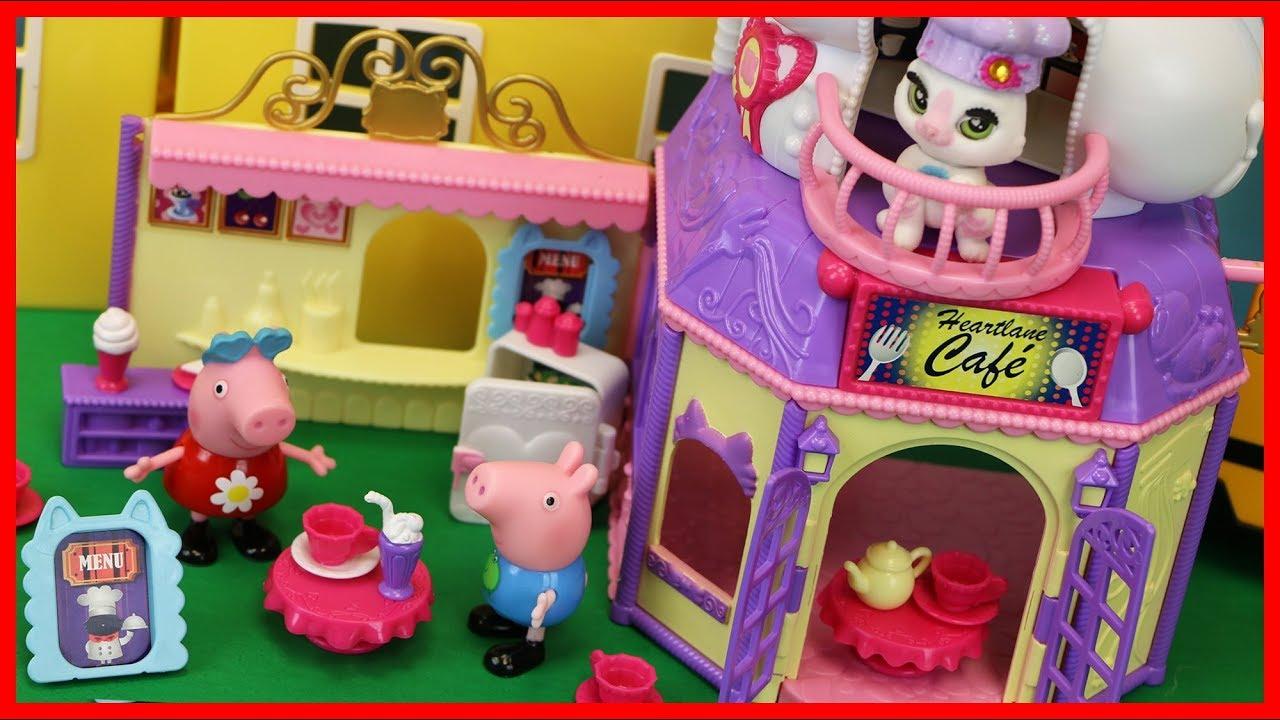 小貓咪可愛咖啡店的玩具故事 北美玩具 - YouTube
