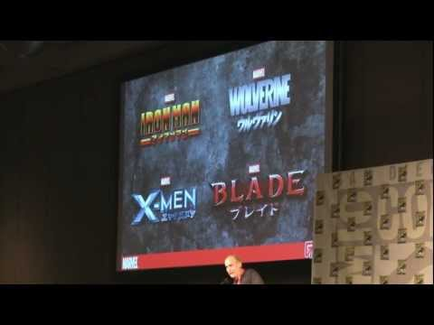 Blade anime trailer exclusive marvel english first look - Fusion Comics - Comic Con 2011
