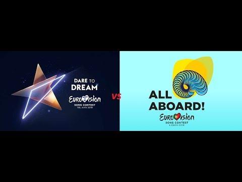 Eurovision 2018 Vs Eurovision 2019 - Songs Battle