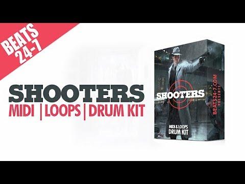 Hard Trap Beat Construction Kits + Drum Kit -