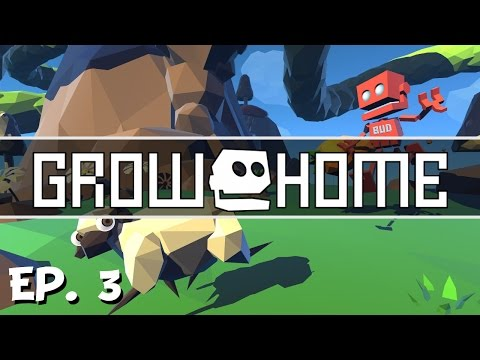 Grow Home - Ep. 3 - Exploring Waterfall Island! - Let's Play