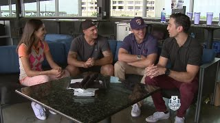 Florida Panthers' Michael Haley & Shawn Thornton Make Friendly Wager With CBS4's Mike Cugno & Bianca