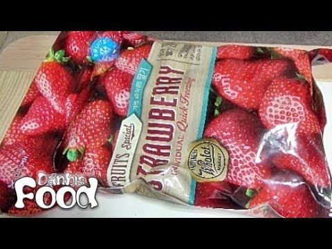 냉동 딸기, 대형마트의 개별 급속 냉동 과일 해동 시식기