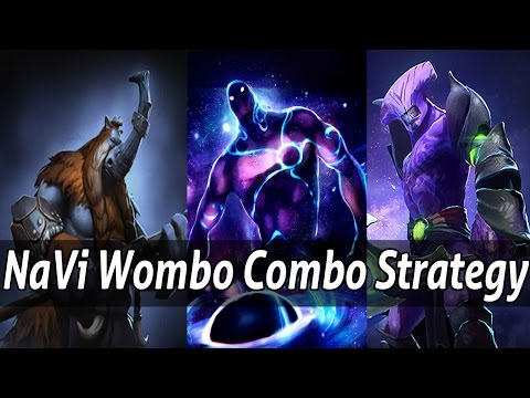 NaVi Enigma, Void and Dendi Magnus Wombo Combo Strategy - Dota 2 Epic Moments