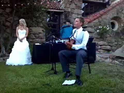 Jack Johnson - Angel - Custom Cover at Wedding - Jon Tucker