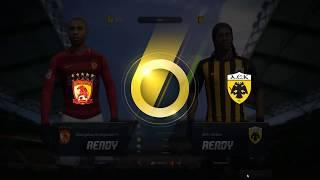 Fifa Online 3 Legend Ranking Full WL UL team 1-1 Penalty Shootout Winning!