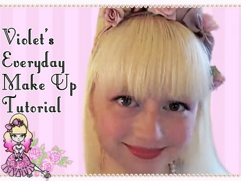 Violet's Every Day Romantic Make Up Tutorial  Violet LeBeaux