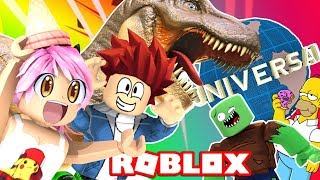 FUN IN THE WORLD'S LARGEST THEME PARK Roblox Universal Studios