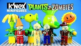 k nex plants vs zombies mystery figures blind bags series 1 w peashooter sunflower bonk choy