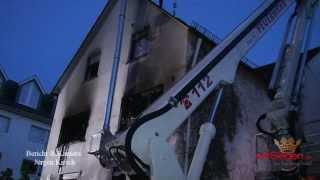 Wohnhaus in Erndtebrück brannte lichterloh