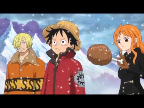 one piece funny moment nami feeds luffy (Episode 623