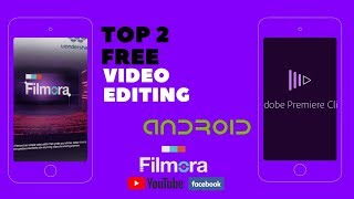 TOP 2 Video Editing apps For android Iসুন্দর ভিডিও বানাতেIbangla Tutorial
