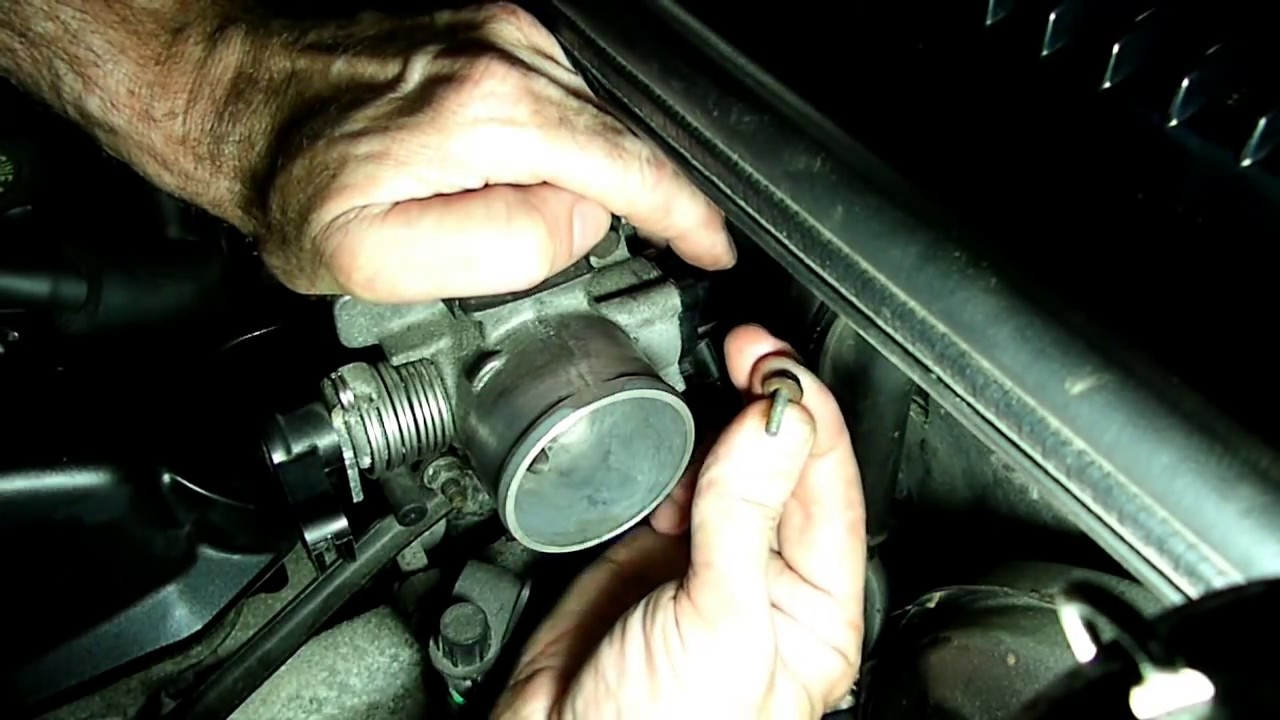 Throttle Position Sensor Replacement(REDO) - YouTube