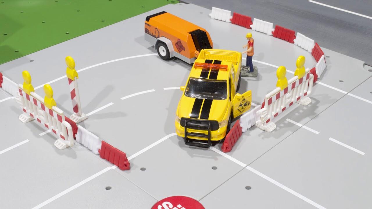 Diesel gasolinera para granjeros siku y camiones 1:32