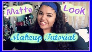 Matte Look | Makeup Tutorial Thumbnail