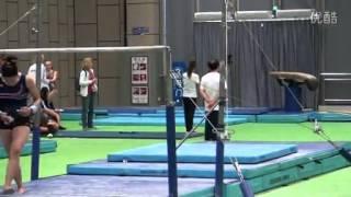 Tan Jiaxin VT training 2014 Worlds Nanning Day 1