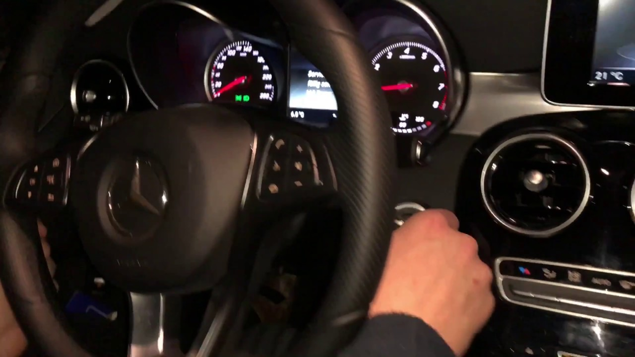 How To Drive A Mercedes Benz C Class Car With Automatic Transmission