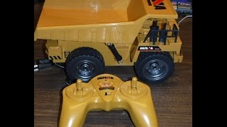Huina 1540 6ch 1/12 Rc Dump Truck Unboxing